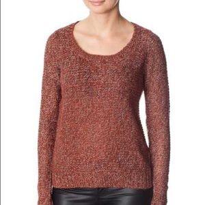 Vero Moda burgundy speckled sweater